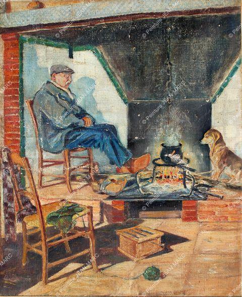 Portrait du grand-père François (années 1940)